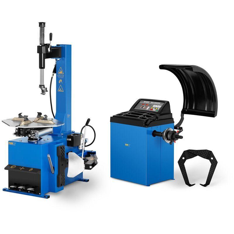 MSW Démonte-Pneu Machine à Pneu Moto Montage Jantes 11 - 21'
