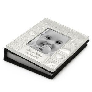Amikado Cadre Album photo bébé en métal argenté - Publicité