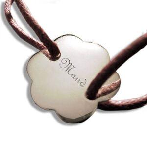 Amikado Bracelet fleur personnalisé - Publicité