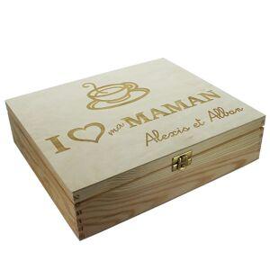 Amikado Boîte à thé 12 compartiments personnalisée - Publicité