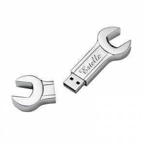 Amikado Clé plate USB 8Go gravée - Publicité