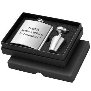 Amikado Coffret flasque personnalisée avec shooters - Publicité