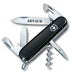 Amikado Couteau suisse noir personnalisé - Publicité