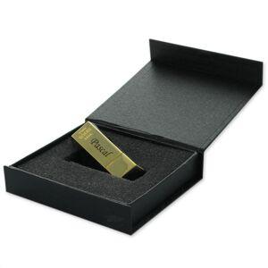 Amikado Clé USB 8Go lingot d'or personnalisée - Publicité