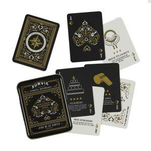 Amikado Jeu de cartes de survie Gentlemen's Hardware - Publicité