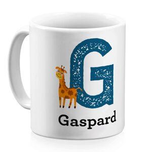 Amikado Mug alphabet animal personnalisé prénom - Publicité
