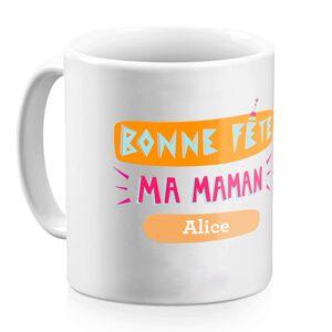 Amikado Mug personnalisé Bonne fête ma Maman - Publicité