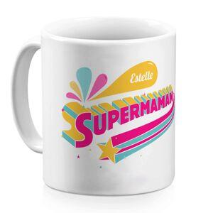 Amikado Mug Super maman personnalisé prénom - Publicité