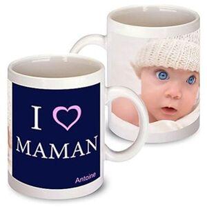 Amikado Mug fête des mères personnalisé - Publicité