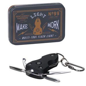 Amikado Porte-clés multi-fonctions lampe de poche Gentlemen's Hardware - Publicité