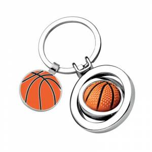 Amikado Porte-clés ballon de basket gravé - Publicité