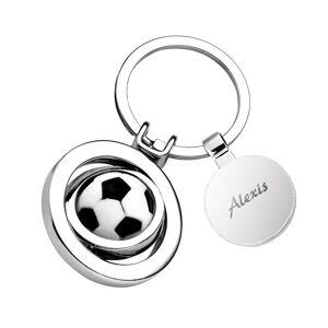 Amikado Porte-clés ballon de foot gravé - Publicité
