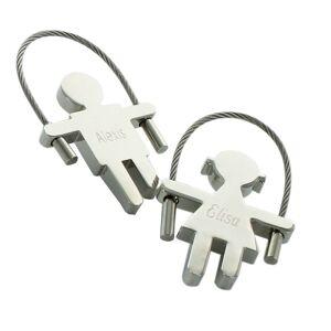 Amikado Porte-clés corde à sauter gravé - Publicité