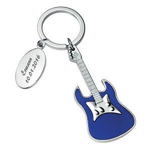 Amikado Porte-clés guitare gravé - Publicité