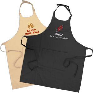 Amikado Tablier barbecue personnalisé - Publicité
