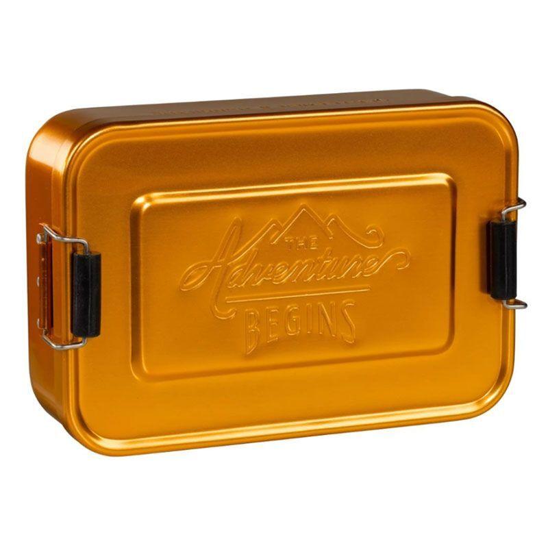 Amikado Lunch Box dorée The Adventure Begins