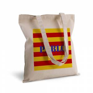 Amikado Tote bag deluxe prénom Catalogne - Publicité