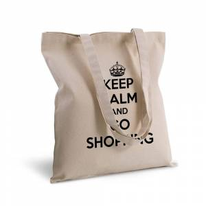 Amikado Tote bag deluxe personnalisé Keep Calm - Publicité