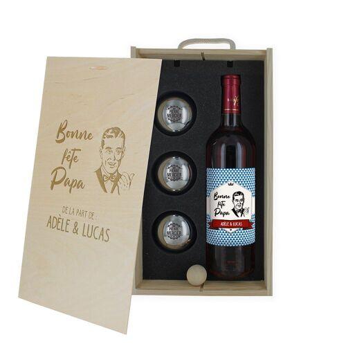 Amikado Coffret vin et pétanque ...