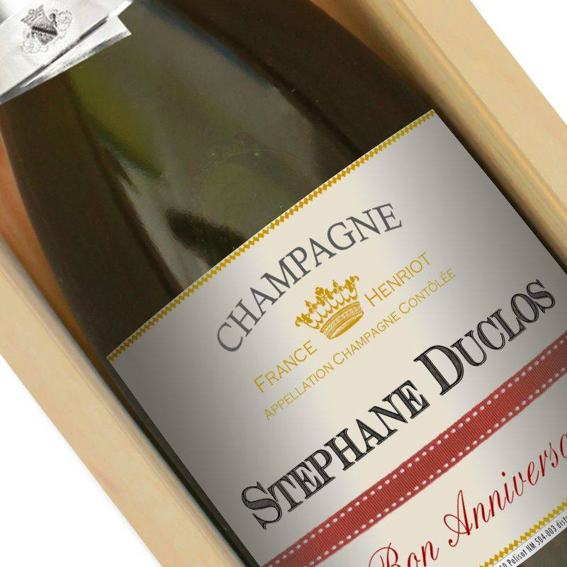 Amikado Champagne personnalisé