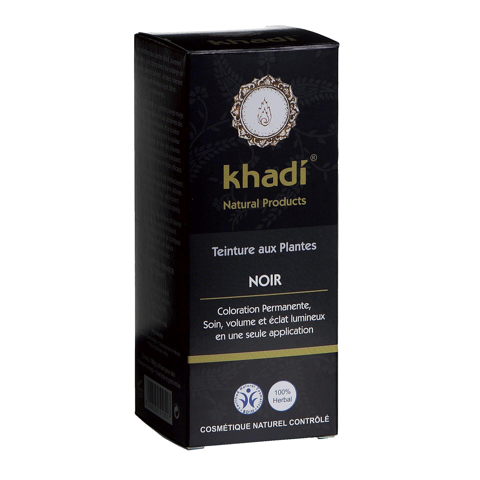 Coloration Végétale Noir Khadi