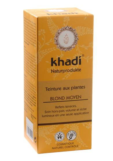 Coloration Végétale Blond moyen