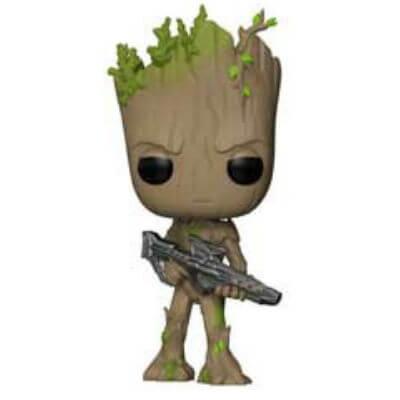 Pop! Vinyl Figurine Pop! Groot Ado avec Pistolet - Marvel Avengers Infinity War