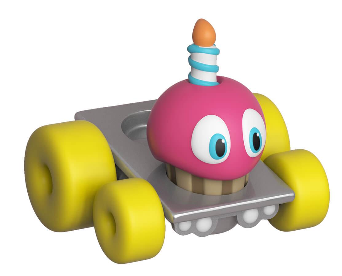 Super Racers Figurine Funko Super Racers : Five Nights At Freddy's - Cupcake