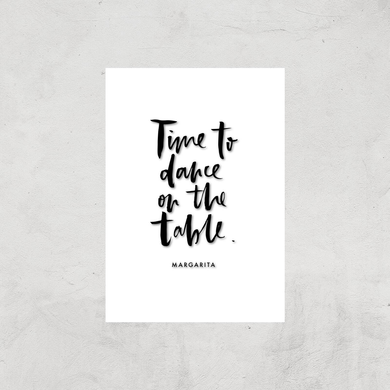PlanetA444 Time To Dance On The Tables Art Print - A4 - Print Only