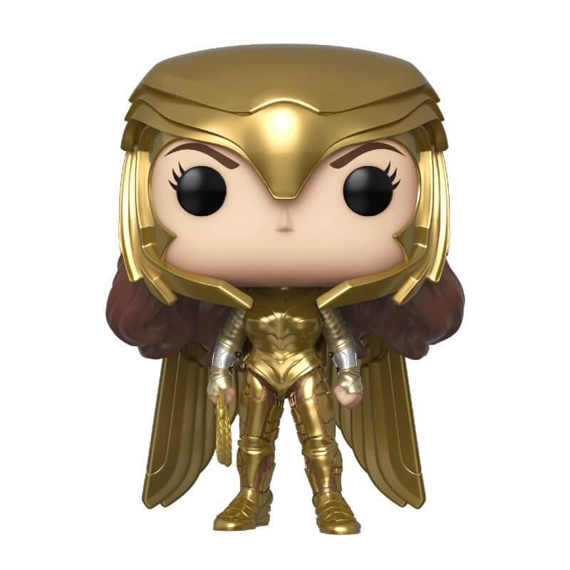 Pop! Vinyl Figurine Pop! Wonder Woman Pouvoir Or Métallique - Wonder Woman 1984