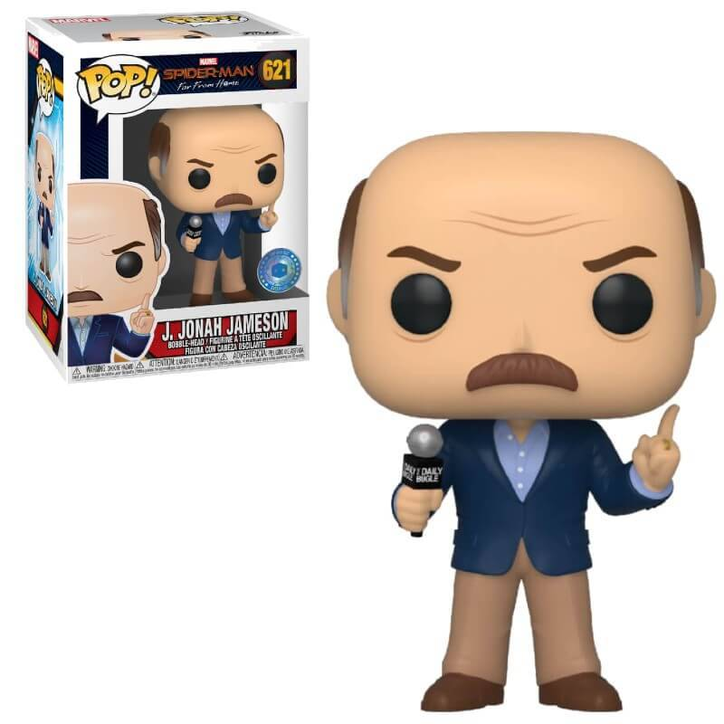 Pop! Vinyl Figurine Pop! J. Jonah Jameson EXC PIAB Marvel - Spider-Man Far From Home