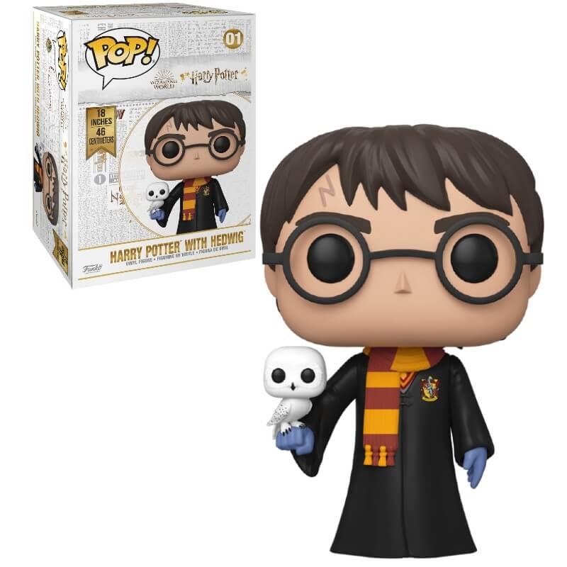 Funko Pop! Vinyl Figurine Pop! Harry Potter 18 Pouces (46cm) - Harry Potter
