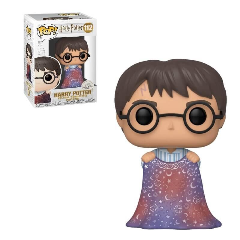 Pop! Vinyl Figurine Pop! Harry Potter Avec Cape D'invisibilité