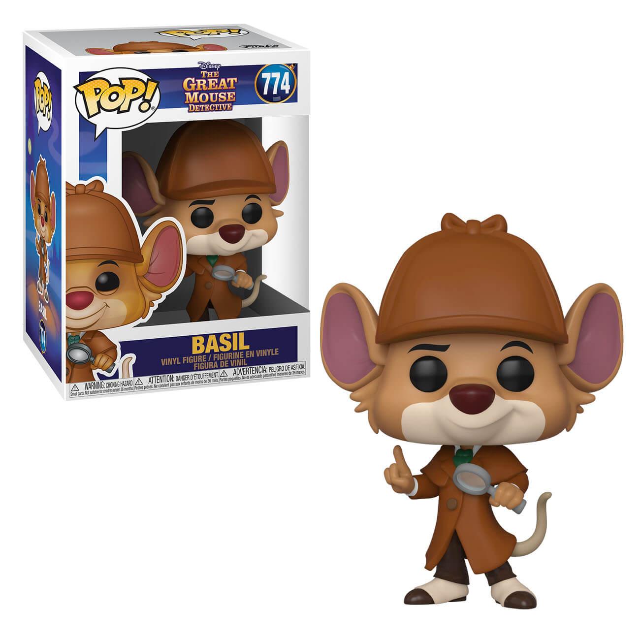 Pop! Vinyl Figurine Pop! Basil - Basil, Détective Privé - Disney