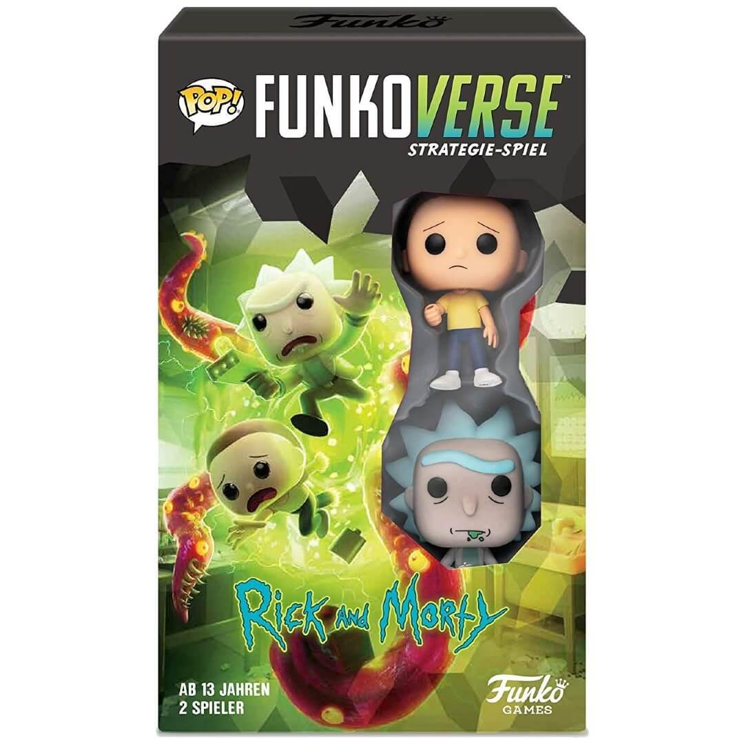 Funkoverse Jeu Funkoverse Rick Et Morty - Version Allemand