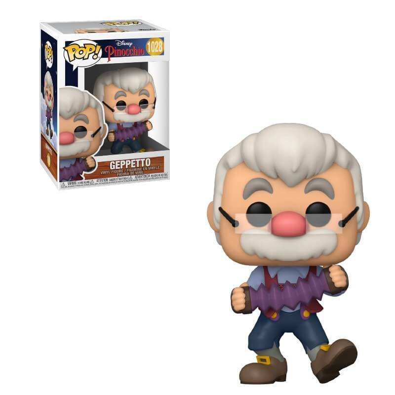 Pop! Vinyl Disney Pinocchio Geppetto avec Accordéon Pop! Figurine en vinyle