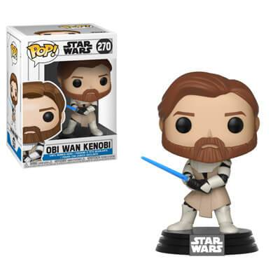 Pop! Vinyl Figurine Pop! Obi Wan Kenobi - Star Wars Clone Wars