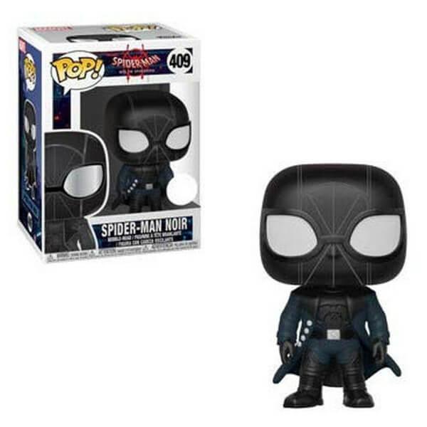 Funko Pop! Vinyl Figurine Pop! Marvel Spiderman Into The SpiderVerse - SpiderMan Noir EXC