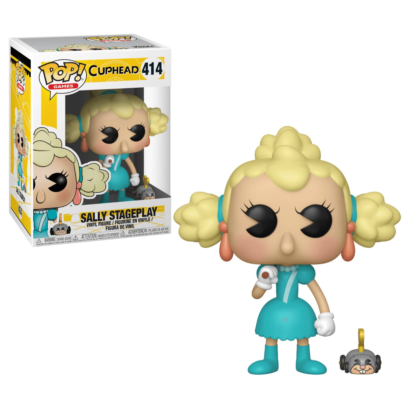 Pop! Vinyl Figurine Pop! Sally & Wind Up Move Cuphead