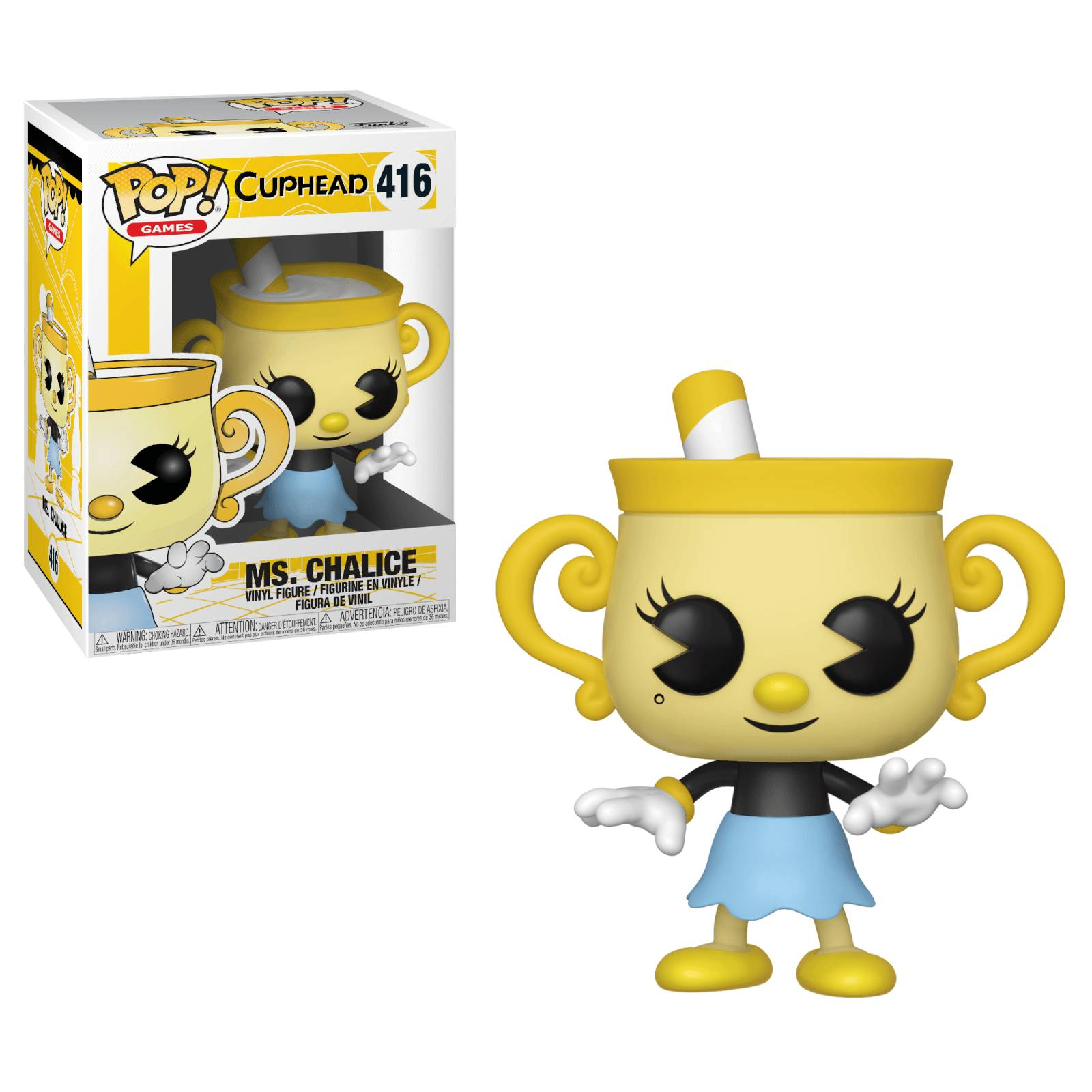 Pop! Vinyl Figurine Pop! Ms Chalice Cuphead