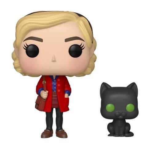 Pop! Vinyl Figurine Pop! Sabrina avec Salem - Les Nouvelles Aventures de Sabrina