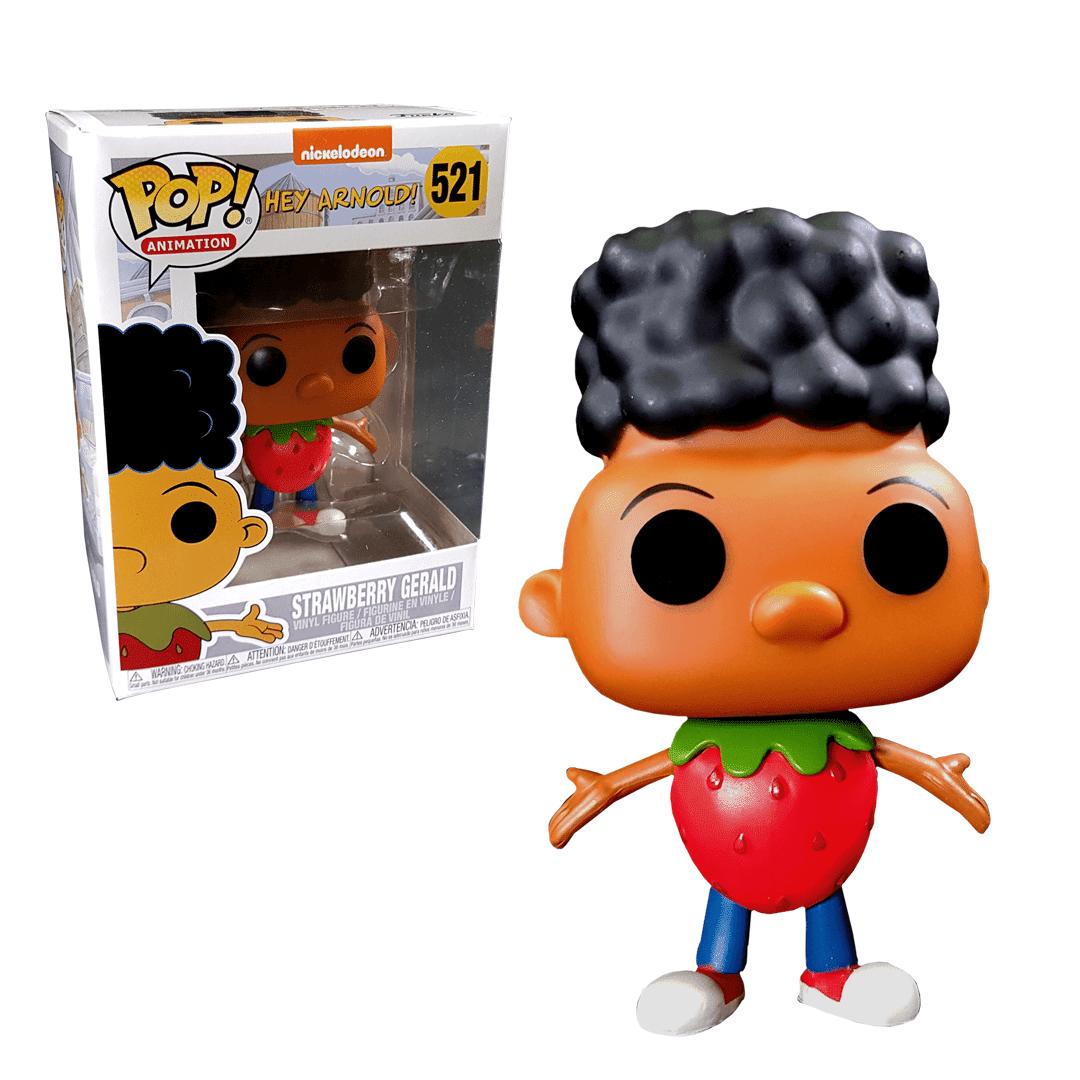 Pop! Vinyl Figurine Pop! Gerald Fraise - Hey Arnold - EXC - Nickelodeon