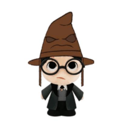 SuperCute Plush Peluche SuperCute - Harry Potter Avec Choipeau