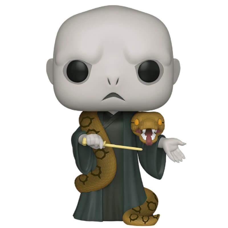 Pop! Vinyl Figurine Pop! Voldemort Avec Nagini 10 Pouces (25cm) - Harry Potter