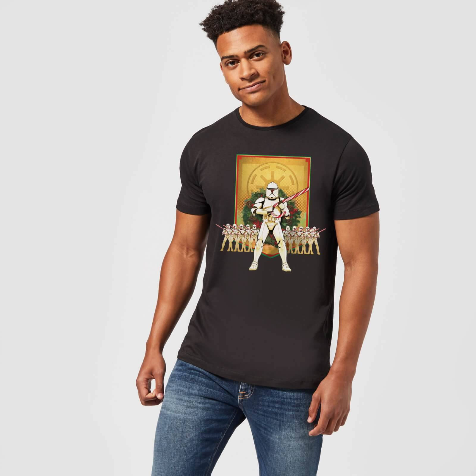 Star Wars T-Shirt Homme Chants Jedi Star Wars - Noir - XL - Noir