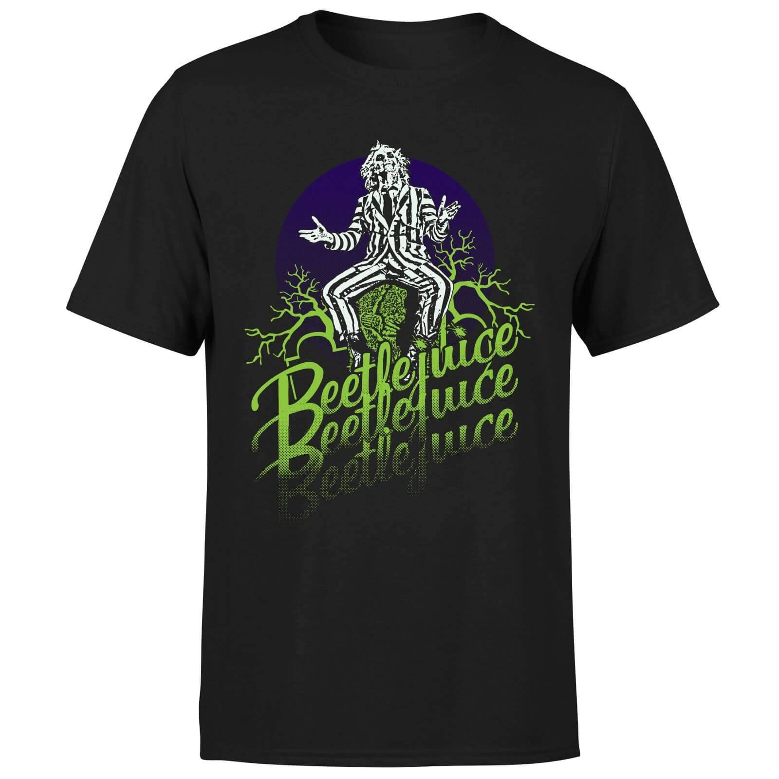 Beetlejuice T-Shirt Homme Beetlejuice Abîmé - Noir - XXL - Noir