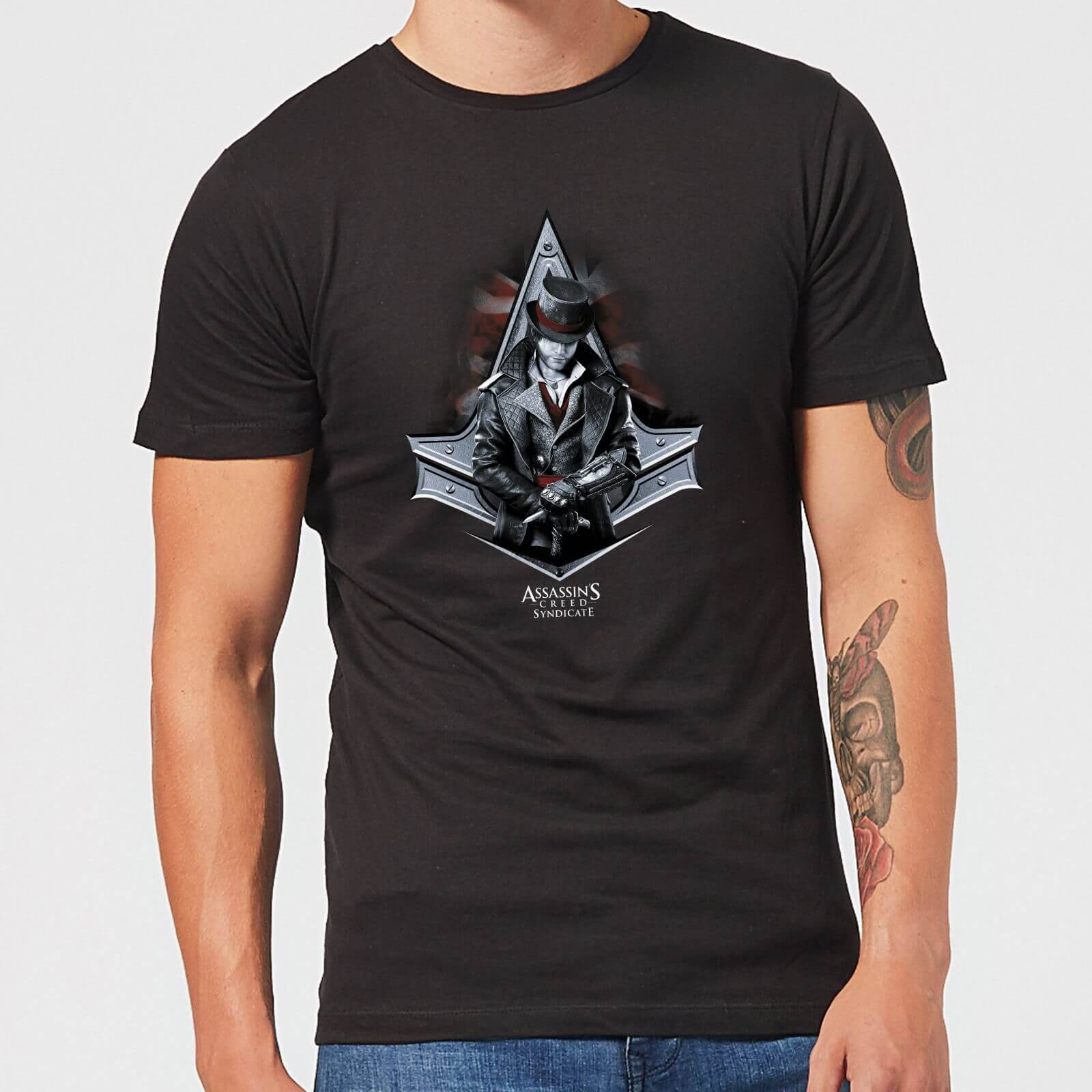 Assassin's Creed T-Shirt Homme Jacob Assassin's Creed Syndicate - Noir - XS - Noir