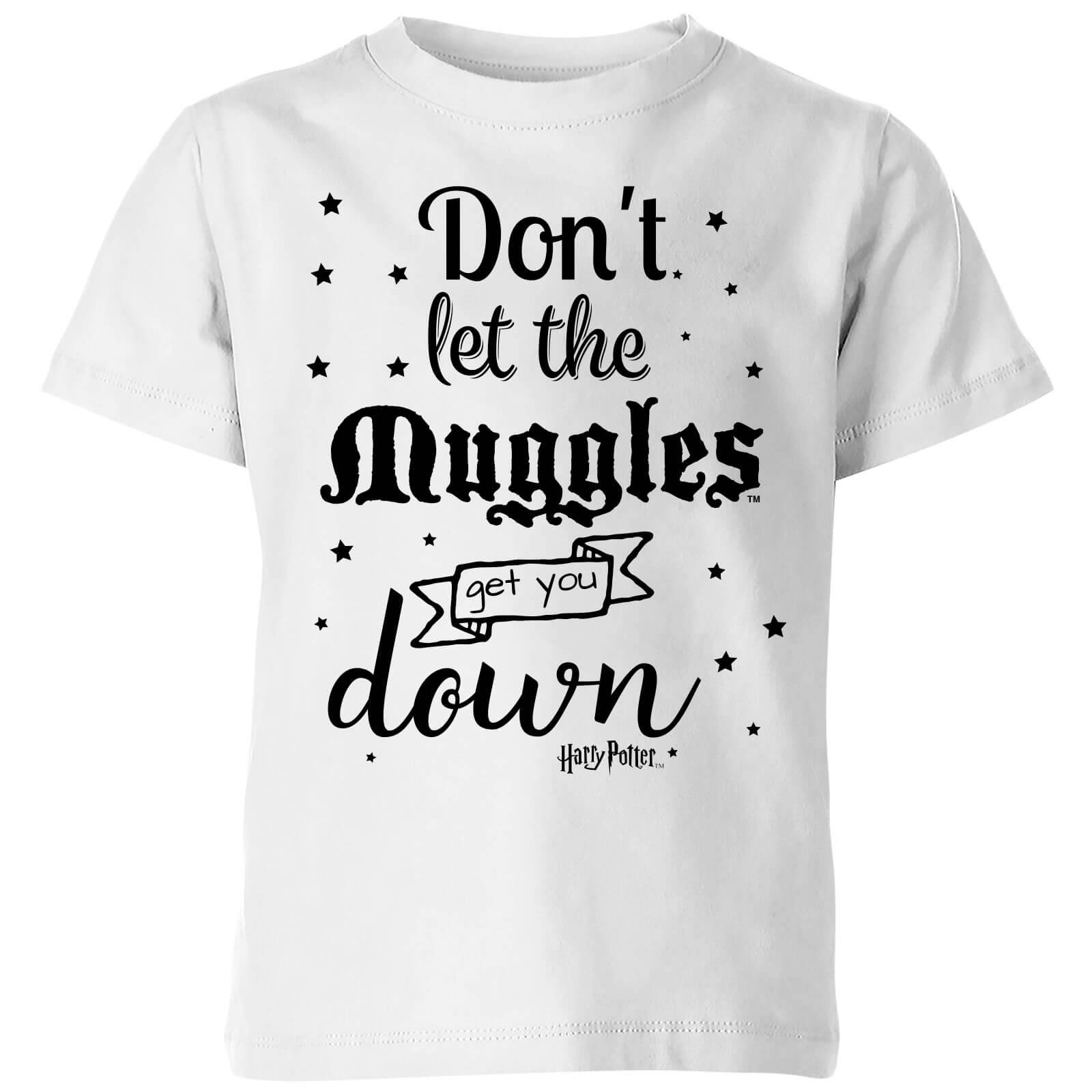 Harry Potter T-Shirt Enfant Ne te Laisse pas Faire par les Modus - Harry Potter - Blanc - 7-8 ans - Blanc