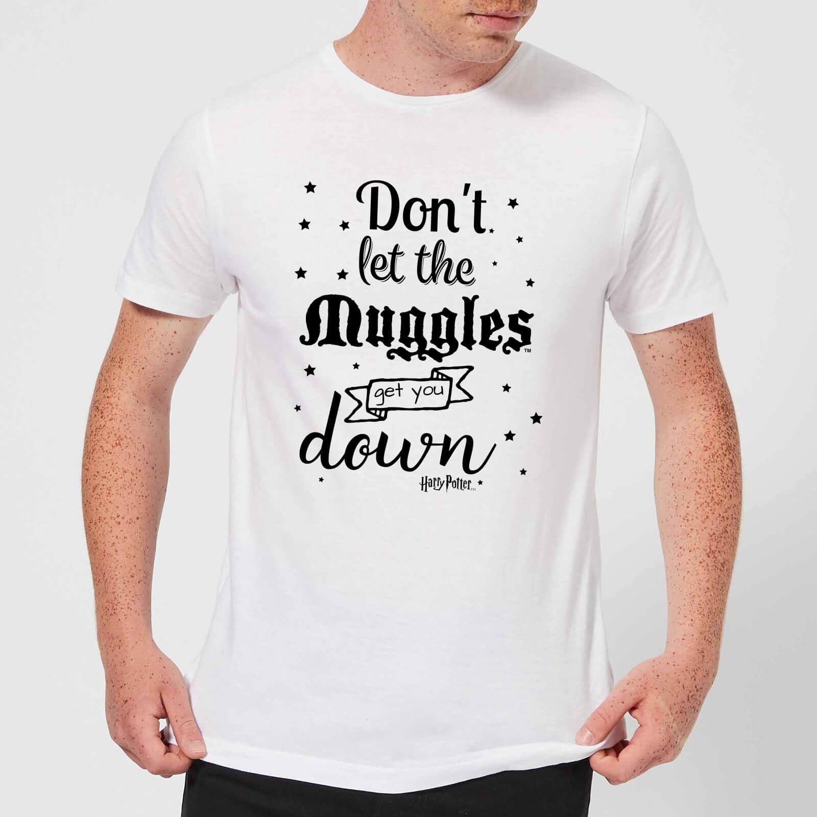 Harry Potter T-Shirt Homme Ne te Laisse pas Faire par les Modus - Harry Potter - Blanc - XL - Blanc