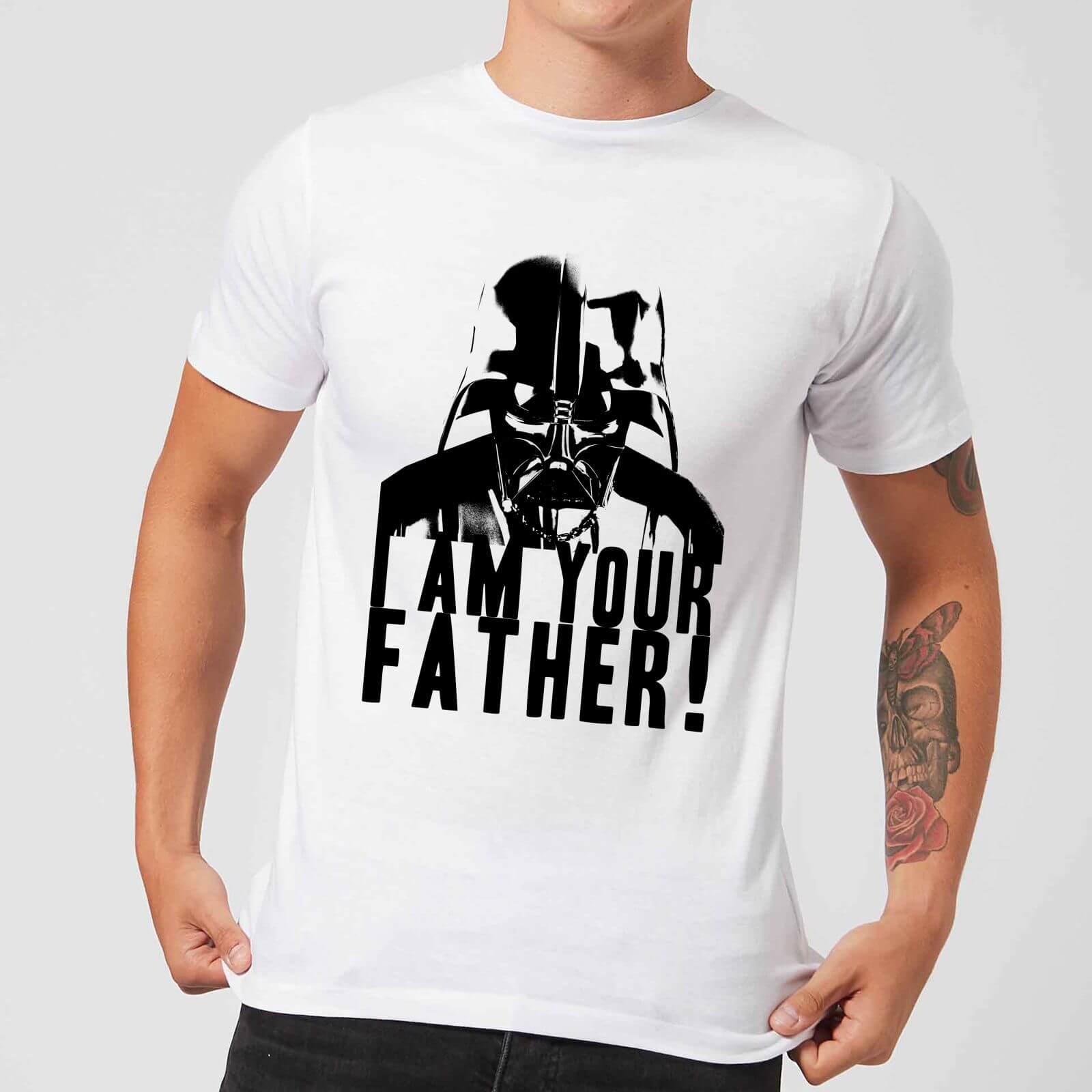 Star Wars T-Shirt Star Wars Homme Dark Vador Confession Je Suis Ton Père - Blanc - L - Blanc